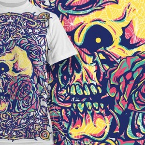 grunge-skull-t-shirt-prints