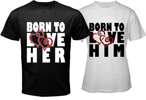 the gallery for gt best couple shirts design