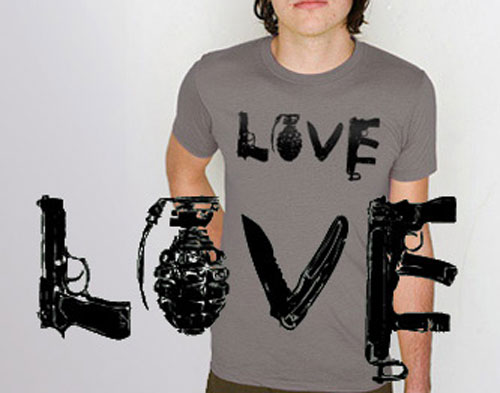 Love Shirt Crop