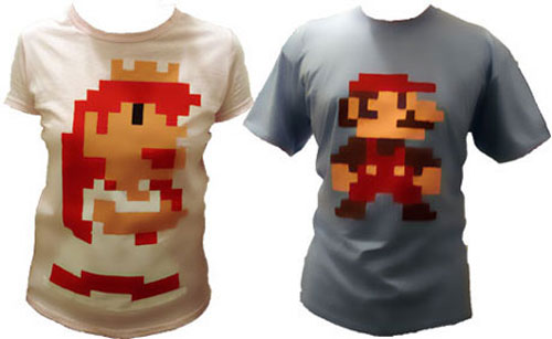 DIY Pixel art T-shirts