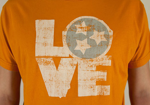 Billy Reid Tennessee Love T-shirt