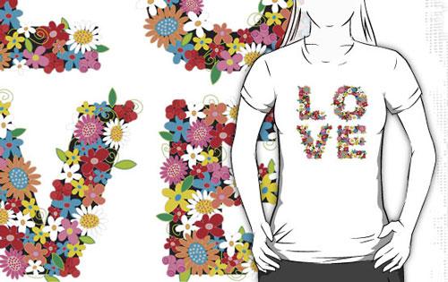 Love Spring Flowers