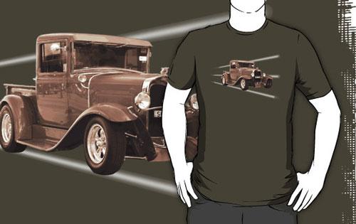 Vintage Car Sepia