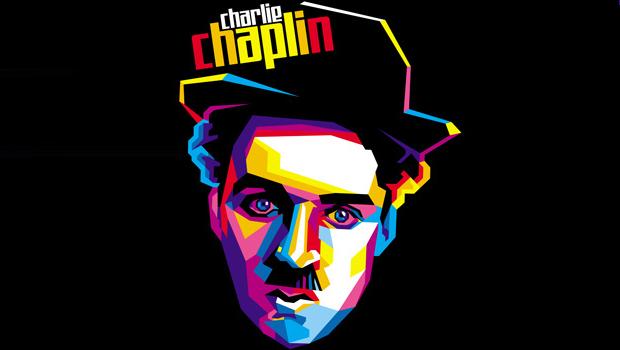 express joy in silence with charlie chaplin tshirt