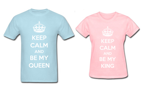 Keep Calm Couple Design