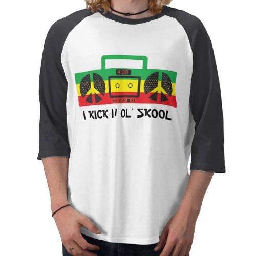 I Kick it Ol' Skool T-Shirt