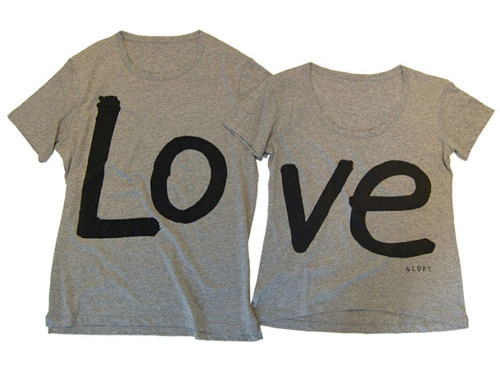 Expressions of love in couple t shirt prints wertee for I love you t shirts