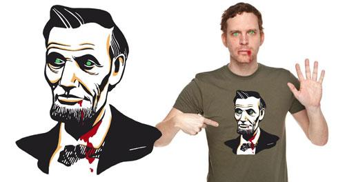 Abraham Lincoln, Vampire-Zombie