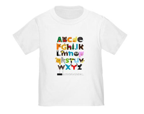 Alphabets T-Shirt