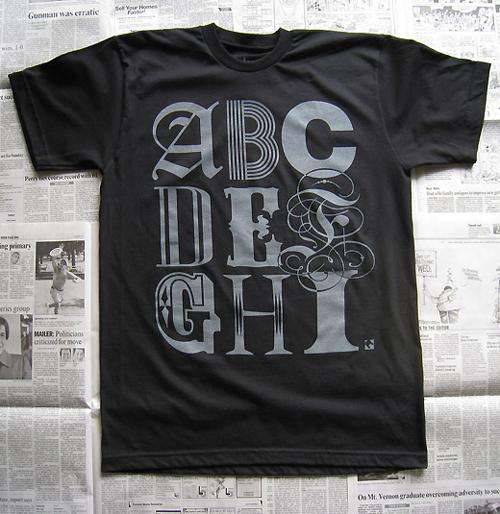 Alphabet (Black)