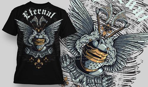 T-shirt Design 608