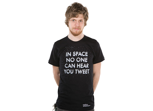 In Space No One Can Hear You Tweet