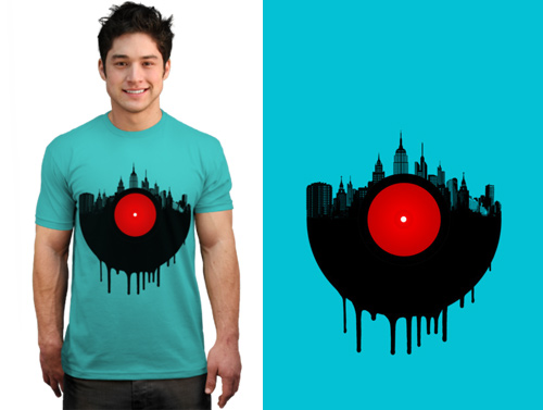 The Vinyl City T-shirt