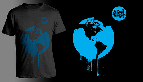 Spray'd Apparel: Earth
