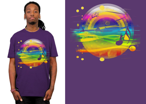 Singing in the Sea T-shirt
