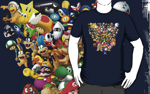 All Characters of Mario Bros